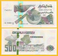 Algeria 500 Dinars p-new 2018 (2019) UNC Banknote