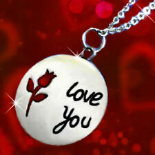 Romantic Women Gifts for her silver I love you christmas presents wife Sis