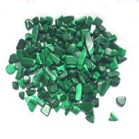 500g Bulk Tumbled Malachite Stones Gemstones Reiki Healing Crystal Xmas Decor
