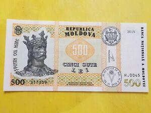 Moldova 500 Lei 2015 UNC