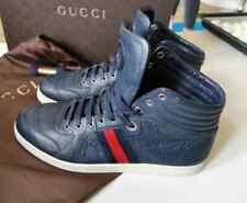 Gucci Sneaker Herrenschuhe 44 G10 Dunkelblau Gucissima
