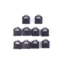 10X 3 Pin PCB Mount Female 3.5mm Stereo Jack Socket Connector fw
