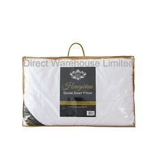 100% Pure Hungarian Goose Down Pillows Luxury Hotel Quality - 1000g Fill