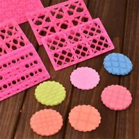 Pastry Tools Quilting Stencil Embossing Mould Cake Mold Cookie Cutter Fondant