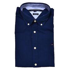 626536e6 Tommy Hilfiger Buttondown Shirt Mens Long Sleeve Custom Fit Casual Collared  2xl Navy