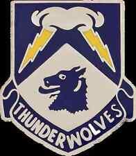 297 Cavalry ARNG Alaska Unit Crest (Thunderwolves)
