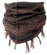 Baby Pali panno marrone-nero frange sciarpa per bambini