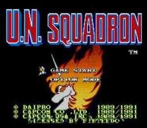 U.N. Squadron - SNES Super Nintendo Game