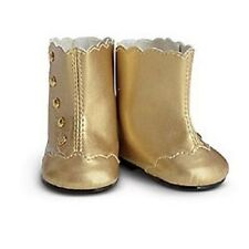 American Girl Cecile Marie Grace GOLDEN FANCY BOOTS NEW IN BOX