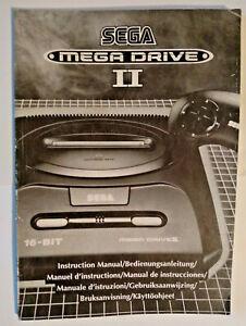 Sega Megadrive 2 Instruction Manual