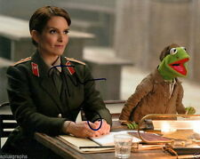 TINA FEY.. The Muppets Most Wanted - SIGNED