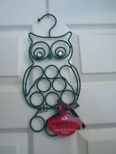 Nwt Organiz-Her Green Jeweled Eyes Owl Accessory Holder