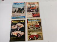 Vintage Lot of 4 Issues Rodding and Re-styling Car Magazine 1962-63 Hot Rod Mods