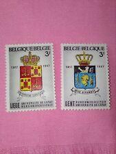 STAMPS  TIMBRE - POSTZEGELS - BELGIQUE - BELGIE 1967 NR 1433/34 **  (ref 1552)