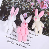 Mini 6cm cute rabbit plush stuffed baby toy dolls for kids candy box gifts toys