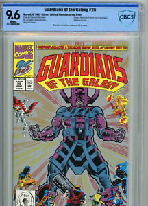 Guardians of the Galaxy #25 | CBCS 9.6 NM+ | Manufacturing ERROR - RARE ITEM