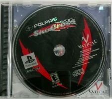 Polaris SnoCross (Sony PlayStation 1, 2000) Free Fast Shipping!