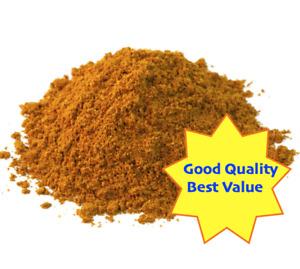 CURRY POWDER HOT, 1 oz. - 14 oz., Indian Curry Masala, Salt Free