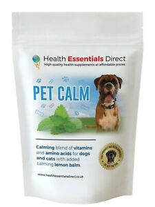 Dog & Cat Calming Supplement - Separation, Anxiety, Stress, Loud Noises