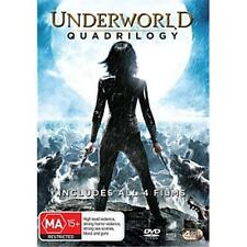 Underworld Quadrilogy DVD R4 Evolution, Rise of the Lycans, Awakening New sealed