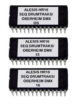 Alesis HR-16 / Hr-16B Sci Drumtraks + Oberheim Dmx Sounds Eprom Upgrade OS 2.0