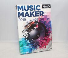 MAGIX Music Maker 2016 - Musikprogramm für Anfänger & Fortgeschrittene, Englisch