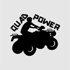 Aufkleber Quad Power Tuning Sticker