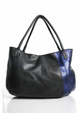 Golden Goose GGDB Blue Leather Bag Used