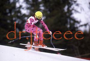 1988 OLYMPICS Michaela Marzola ITALY - 35mm Alpine Skiing Slide