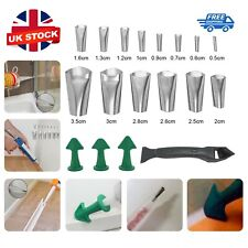 More details for 18x perfect caulking finisher silicone sealant nozzle glue filler tool sealing