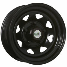 "SUNRAYSIA 15x7"" 5/139.7 10P BLACK STEEL WHEEL 5 STUD SUZUKI VITARA SIERRA ETC"