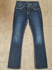 SILVER Natsuki womens Bootcut jeans - size 27 x 32 ---  GREAT condition 33