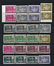 Paraguay # 736-43 Imperfs XF MNH 3 Sets