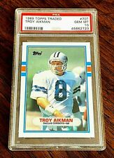 1989 Topps Traded - Troy Aikman RC (Rookie) #70T - PSA 10 - Gem Mint