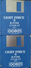R-Type (Ocean 1989) Game (2 discos) 100% aceptar classic game Atari ST