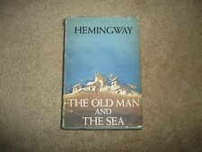 The Old Man and The Sea - Hemingway, 1954 Nobel Prize edition