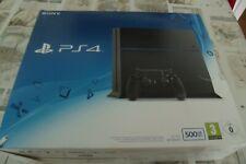 Sony PlayStation 4 500GB Schwarz Spielkonsole mit Controller