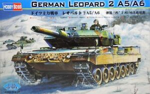 HOBBYBOSS 82402 1/35 GERMAN LEOPARD 2 A5/A6 MBT PLASTIC TANK MODEL KIT