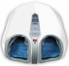 Miko Shiatsu Foot Massager W/ Kneading Heat Therapy and Rolling Air Spa Massage