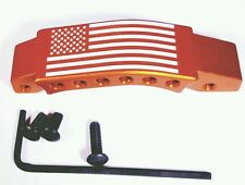 Trigger Guard Red 6 Hole USA Flag 5.56/223/308
