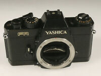 PRL) YASHICA FR FOTOCAMERA ANALOGICA FOTORIPARATORE BODY SPARE PARTS REPAIR