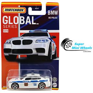 2021 Matchbox Global Series - BMW M5 POLICE (White)
