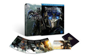 TRANSFORMERS - Age of Extinction 3D Blu ray Steelbook - 3 Disc Set - REGION A