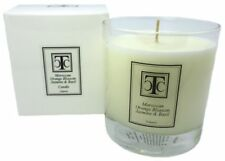 TCC Moroccan Orange Blossom Jasmine & Basil Scented Candle 60 hour