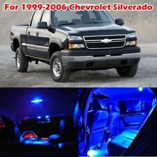 13 pcs Blue Interior LED Bulbs Package Kit For Chevrolet Silverado 1999-2006