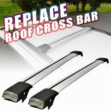 2X Universal Top Roof Rack Cross Bar Clamps Anti-Thief Kayak Luggage Carrier Car