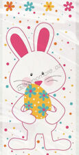 Easter Party 20x Cello Bunny Rabbit Eggs Flower Plastic Lolly Treat Candy Bags
