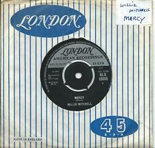 Willie Mitchell:Mercy/Sticks and stones:UK London. Northern Soul