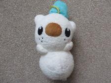 Snowman Oshawott/Mijumaru Plush Soft Toy - Pokemon Center - Very Rare