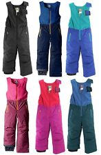 WHITE SIERRA T9217T GIRLS BOYS TODDLER II BIB PANT SKI SNOW WINTER 2T,3T,4T
